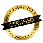 An ISO 9001-2015 certified school